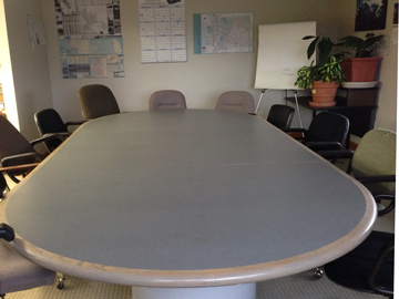 Conference table for meeting